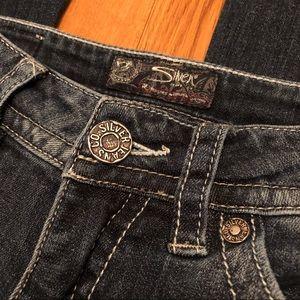 Women's Silver Suki Jeans.